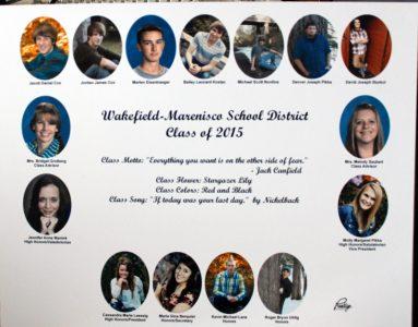 Wakefield-Marenisco Graduating Class of 2015