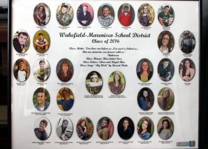 Wakefield-Marenisco Graduating Class of 2016
